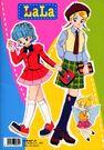 Fashion Lala coloring book4 001