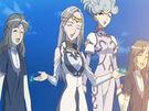 Sasami Mahou Shoujo Club Chief Sorceress using her magic3