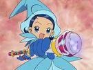 Ojamajo Doremi Aiko using her spell 2
