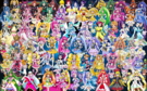 75 Pretty Cure Warriors with Fairies