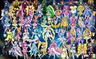 49 Pretty Cure Warriors with Fairies