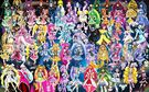 61 Pretty Cure Warriors with Fairies