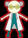 Magic Heart Monster 10 Professor pose