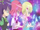 Lilpri Ringo, Leila and Natsuki summoning their wands 1