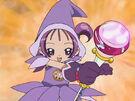 Ojamajo Doremi Onpu using her spell