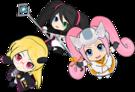 Hi sCoool! SeHa Girl Dreamcast, Sega Saturn and Mega Drive pose