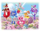 Kira Kira Pretty Cure Jewelpet A La Mode