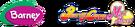 Barney meets Pretty Cure Max Heart logo