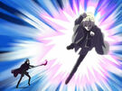 Kamichama Karin Ares using an attack5