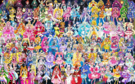 119 Pretty Cure Warriors with Fairies