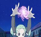 Sasami Mahou Shoujo Club Anri using her magic8