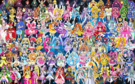 108 Pretty Cure Warriors with Fairies (Updated)