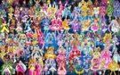 100 Pretty Cure Warriors with Fairies