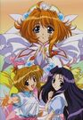 Magical Kanan Chihaya, Magical Angel Carmein and Sayaka