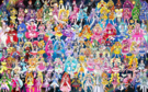 114 Pretty Cure Warriors with Fairies
