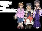 Gen'ei o Kakeru Taiyou Nagataki, Lymro and Hanayume pose