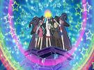 Sasami Mahou Shoujo Club Sasami, Misao, Makoto, Tsukasa and Anri using their magic (opening)