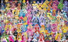 88 Pretty Cure Warriors with Fairies