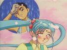 Tenchi Muyo Ryo-Ohki Mihoshi Special Sasami and Tenchi