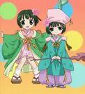 Happy Seven Mina and Nami