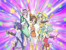 Sasami Mahou Shoujo Club Sasami, Misao, Makoto, Tsukasa and Anri10