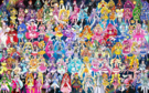 112 Pretty Cure Warriors with Fairies (Updated)