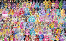 153 Pretty Cure Warriors with Fairies (Updated2)