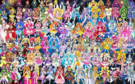 113 Pretty Cure Warriors with Fairies
