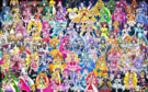 87 Pretty Cure Warriors with Fairies