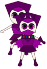 Magic Heart Queen Violet pose