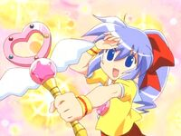 Magical Domiko with her Domikal Stick.jpg
