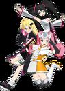 Hi sCoool! SeHa Girl Dreamcast, Sega Saturn and Mega Drive pose2