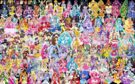 154 Pretty Cure Warriors with Fairies