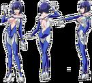 Star Jewel blue pose