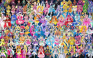 110 Pretty Cure Warriors with Fairies