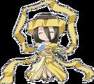 Happy Seven Hotei-sama pose