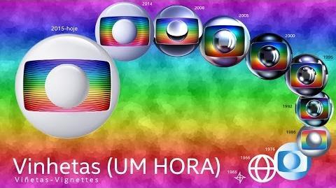 Todas Vinhetas da Rede Globo (1965-2016 Atualizado)