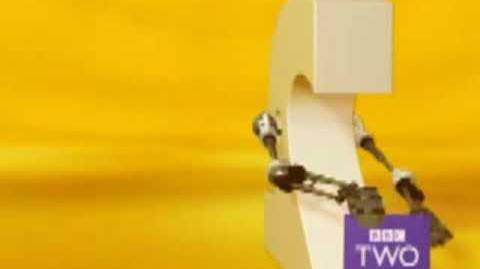 "BBC 2 Ident 2001-07 ""Sticky"""