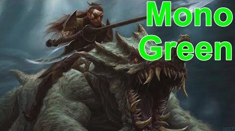 Mono Green Testing in MTGA Early Access Event (Event Was Sponsored By WOTC)-1538345855