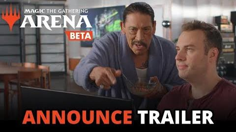 Magic The Gathering Arena - Open Beta Announce Trailer (Official)