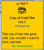 Cold Cup of Tea