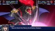 Super Robot Wars T - Rune God Zagato Attacks