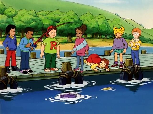 The Magic School Bus S02E13 Ups And Downs (Floating And Sinking)