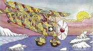 The Magic School Bus as a Propeller Plane