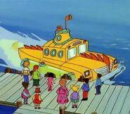 The Magic School Bus Pontoon Submarine Bus