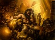 King Macar, the Gold-CursedART1