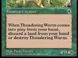 Thundering Wurm