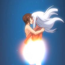 Liliana and Tatsuya kiss.png