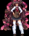 Yukikaze in her school uniform