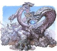 Yamata-no-Hydra illustration